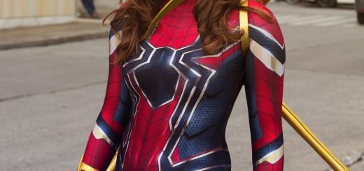 Photo of Kaitlyn Magic as Iron Spider taken by Jefferson Ty