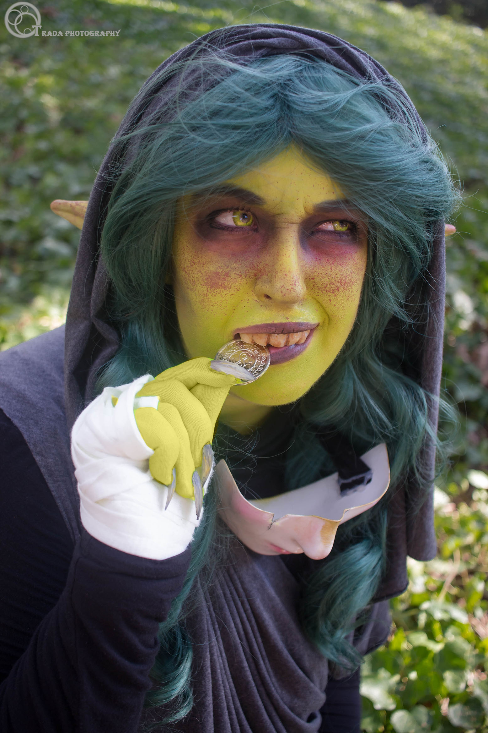 Photo of Effing Creations as Nott from Critical Role. Photo taken by Tradanui