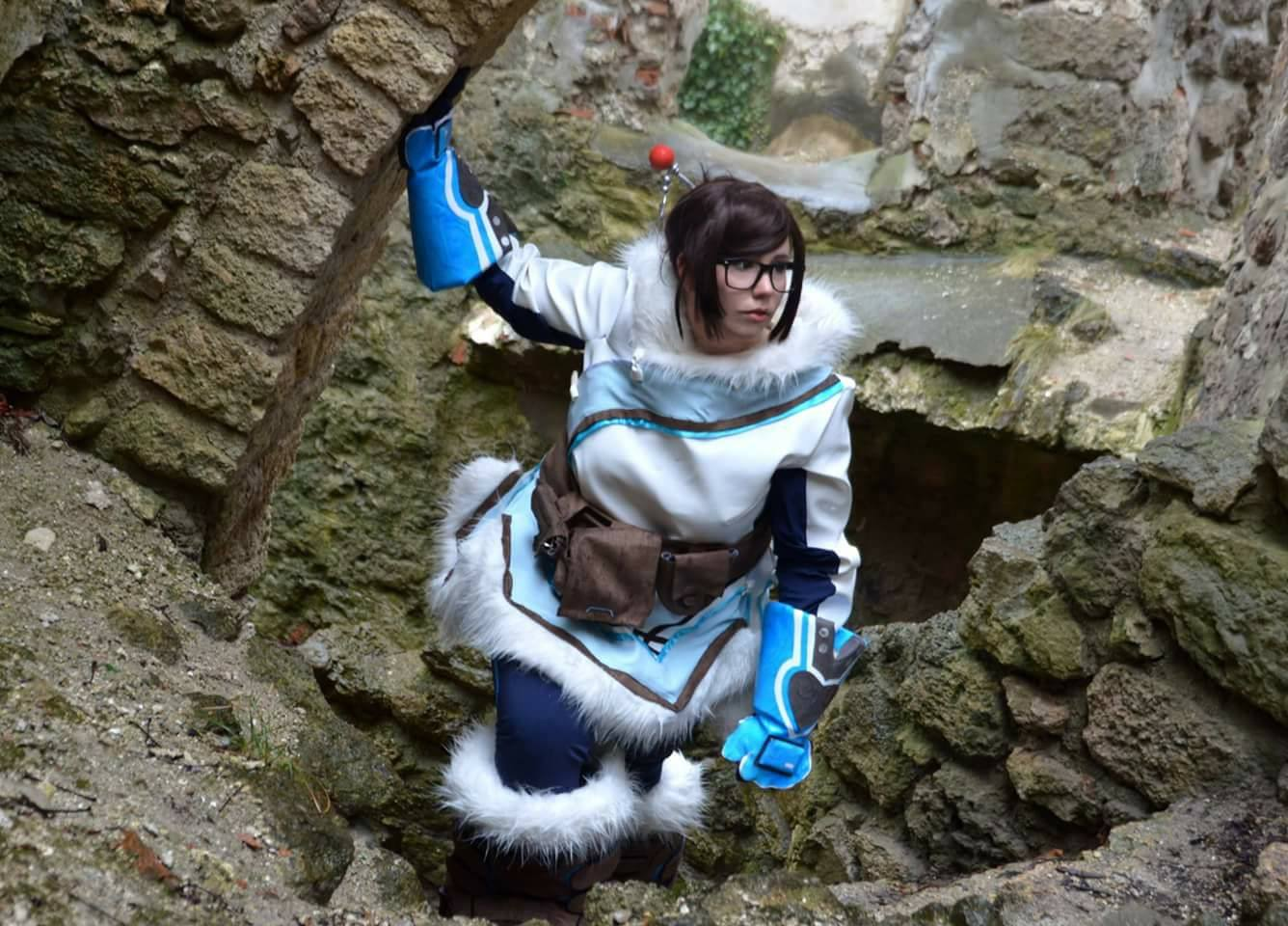 Photo of Giwaku as Mei from Overwatch. Photo taken by MahouWi Cosplay