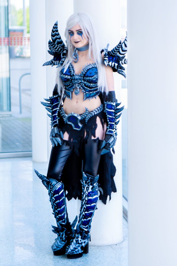 Lady Arthas Cosplay as Sindragosa, photo taken by Anthony Curley Photography