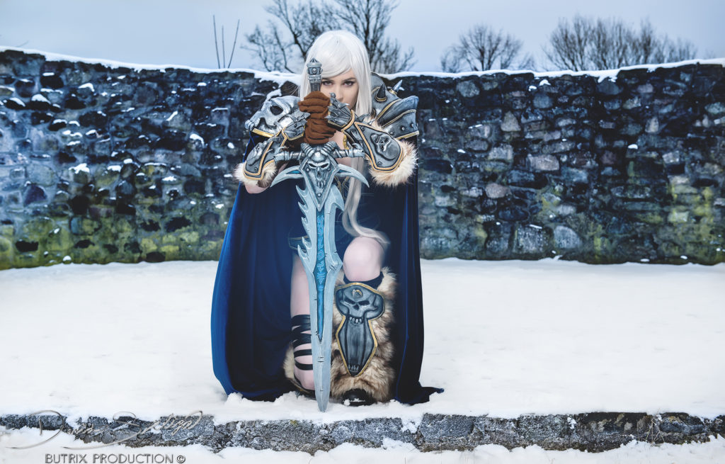 Lady Arthas Cosplay as Arthas, photo taken by Butrix Production