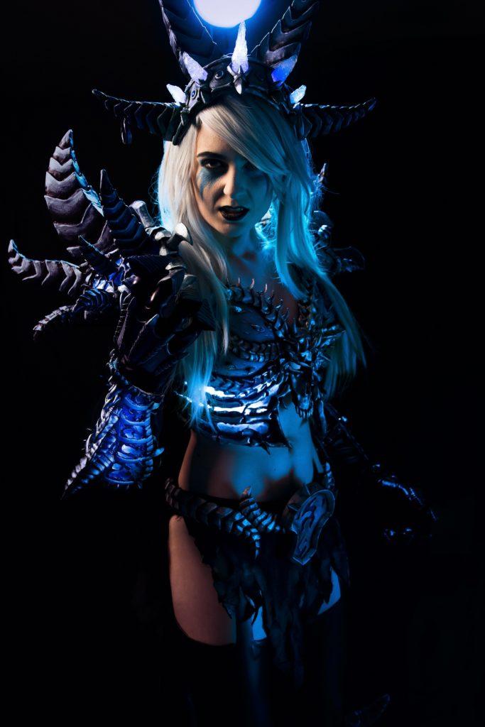 Lady Arthas Cosplay as Sindragosa, photo taken by JGW Lee Photography