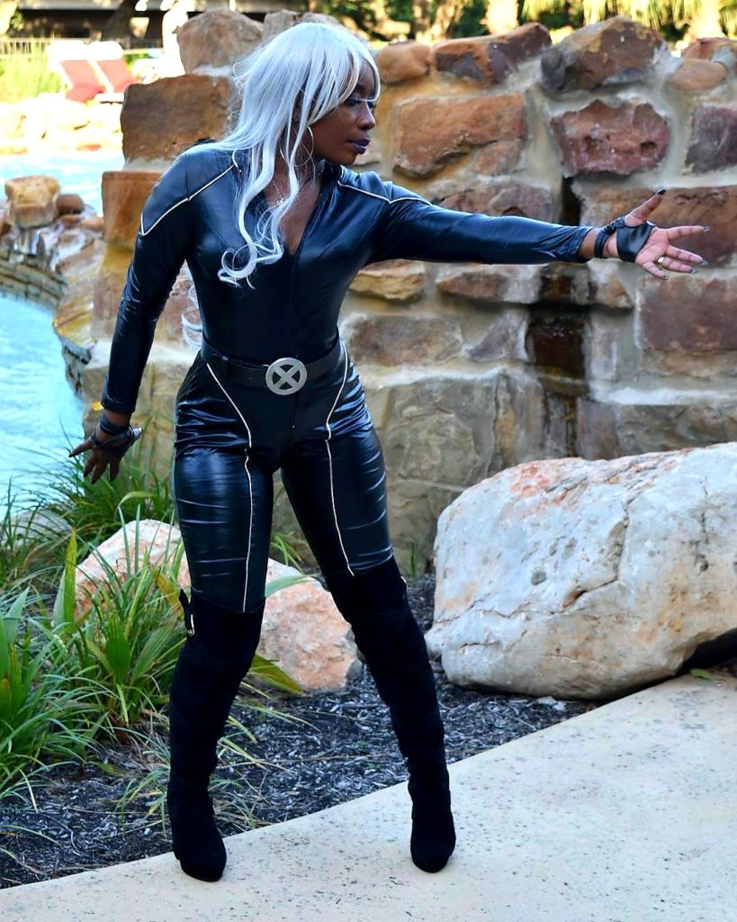 Moni_Cosplay as Storm from the X-Man.  Photo by  PrideOfASaiyan